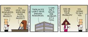Dilbert comic strip from September 12, 2009