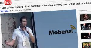 Mobenzi at TEDxJohannesburg