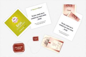 Resource Guru promotional teabags