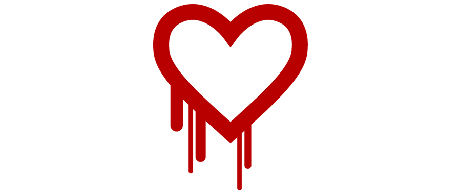 Heartbleed bug graphic
