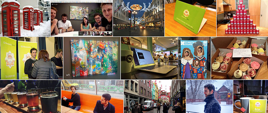 Screen capture of Google+ photo album
