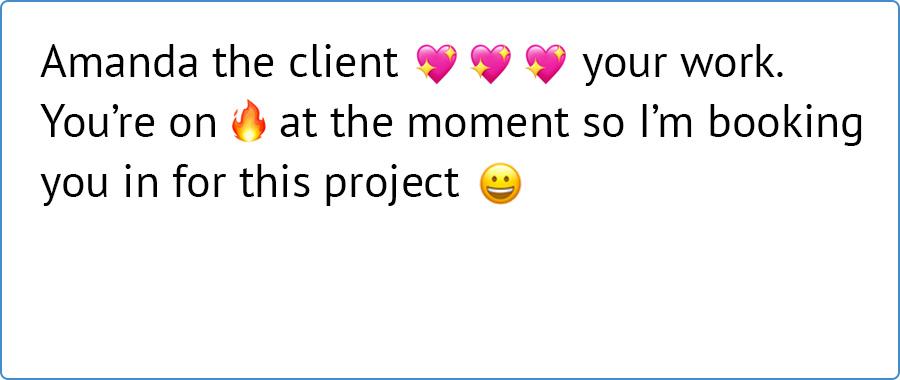 emoji support comes to Resource Guru